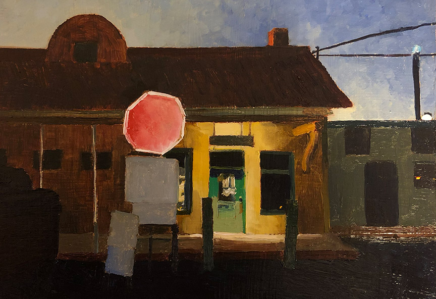 Richard Sober painting, There Are Places